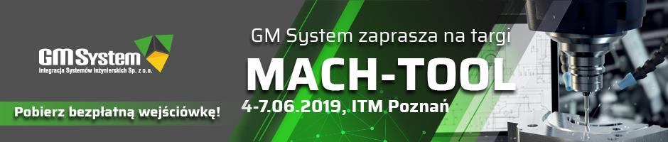 GM System zaprasza na Mach-Tool