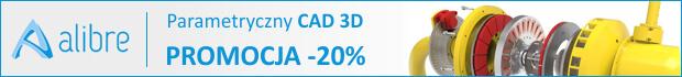 Alibre Parametryczny CAD 3D - Promocja -20%