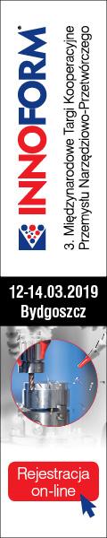 Innoform 2019 - Międzynarodowe Targi Kooperacyji Przemysłu Narzędziowo-Przetwórczego