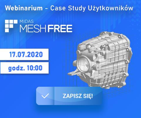 Case Study Użytkowników MIDAS MeshFree