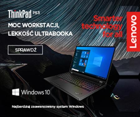 Stacja robocza Lenovo ThinkPad P53